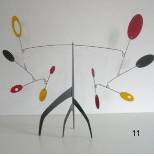 standing mobile stabile hanging modern mid-century art